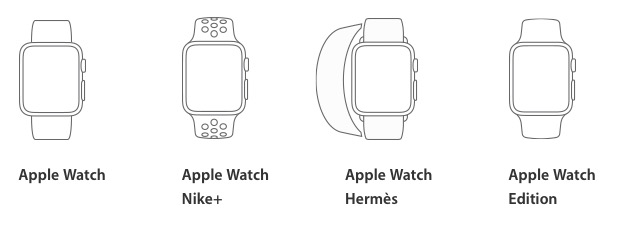 apple watch series 2 model
