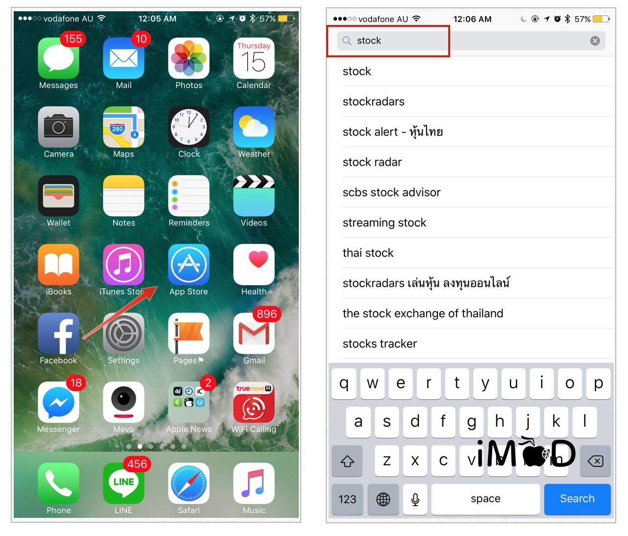 install ios stock apps-1