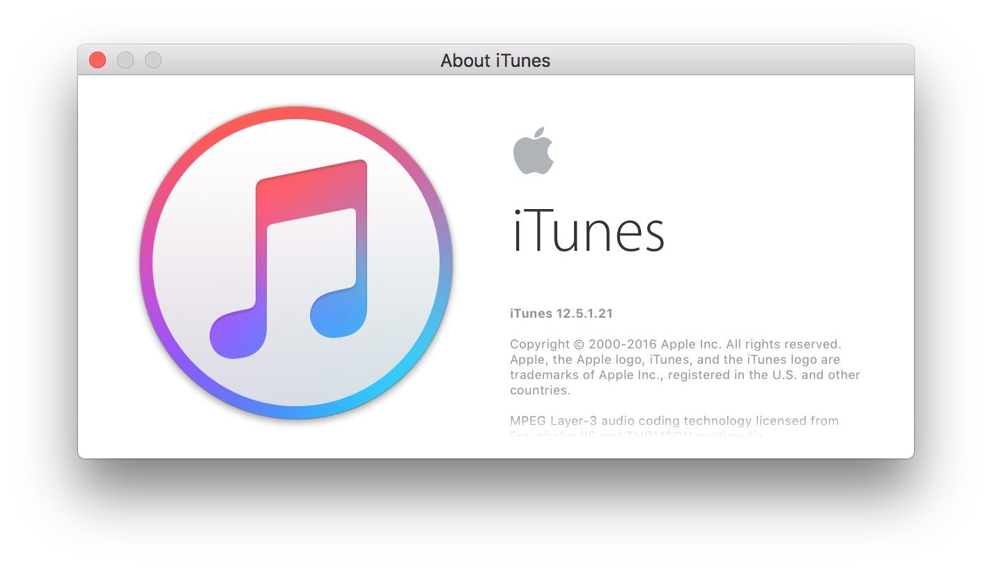 itunes 12.5.1-release-8