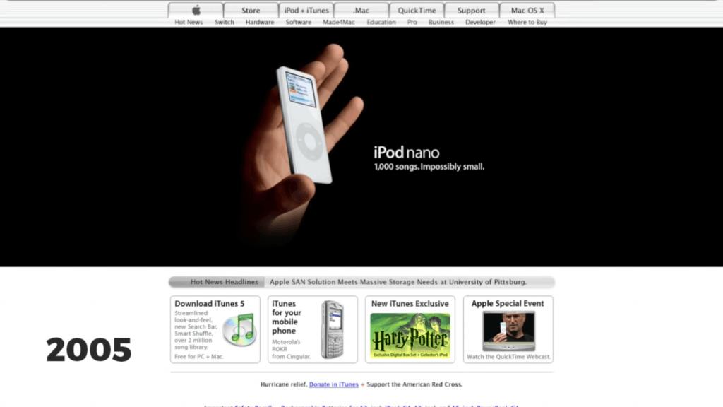 AppleWeb-2005