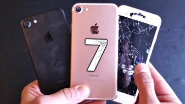 iphone 7 screen cracked fix