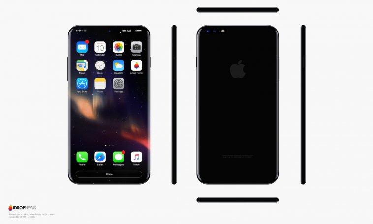 ใหม่ล่าสุด!! ภาพแนวคิด iPhone 8 จอ OLED ไร้ขอบ ไร้ปุ่ม Home การันตีรุ่นฉลอง10ปี แจ่มแน่นอน....