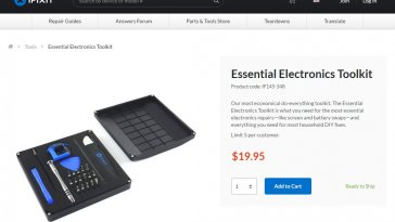 Essential Electronics Toolkit - 1
