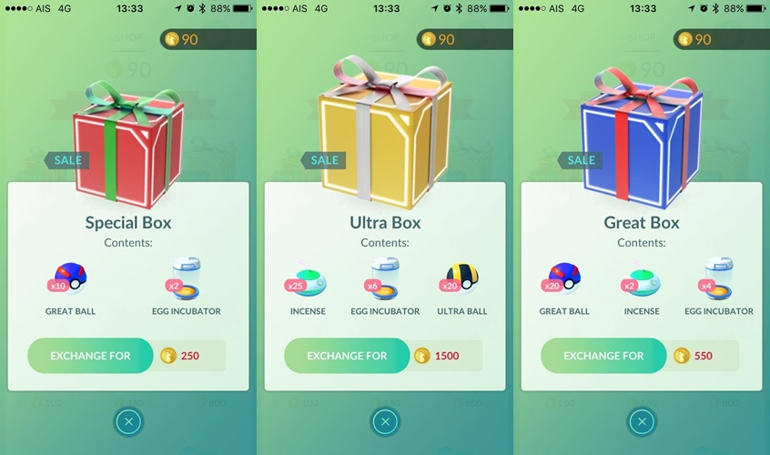Limited-time holiday item packs (2)