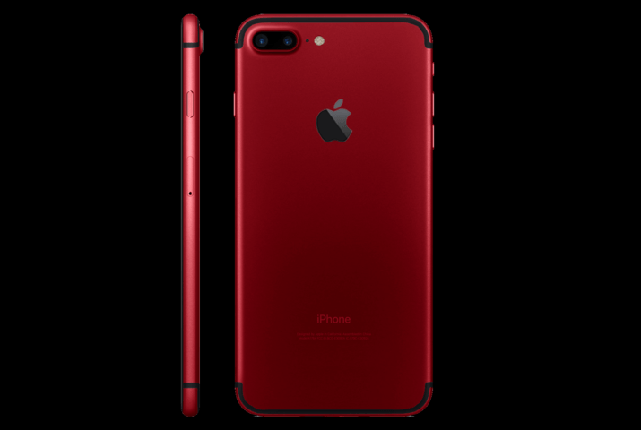 iphone 7 red render