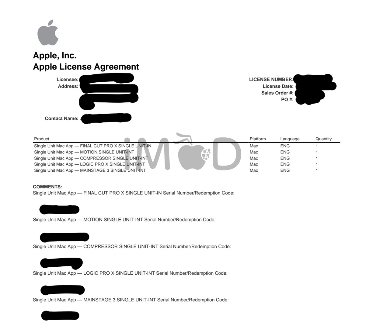 Apple ID ไทยสามารถซื้อ Pro Apps Bundle for Education ได้