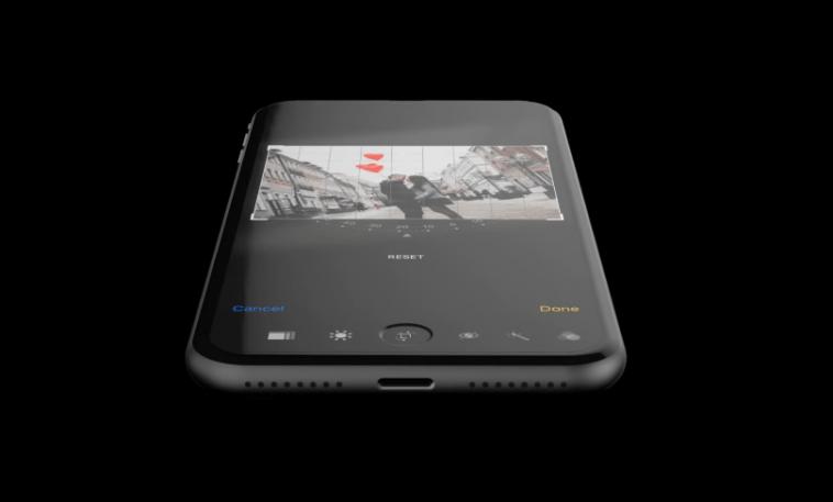 แบบนี้แหละที่ต้องการ... ชมภาพแนวคิดล่าสุด iPhone 8 หน้าจอเต็มขอบพร้อม Touch Bar !! !