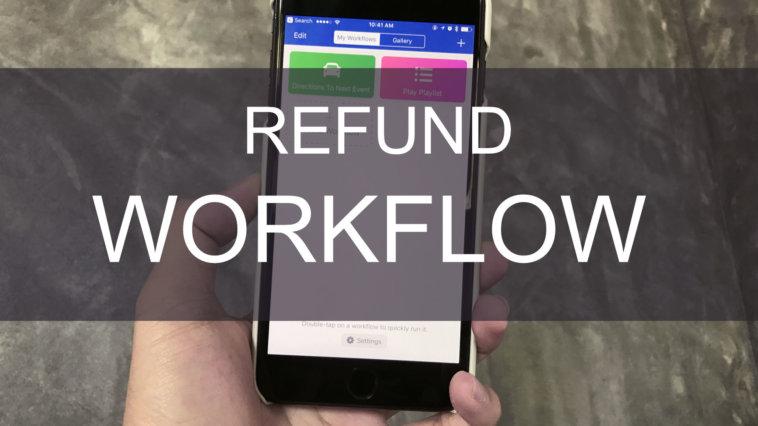 refund workflow app