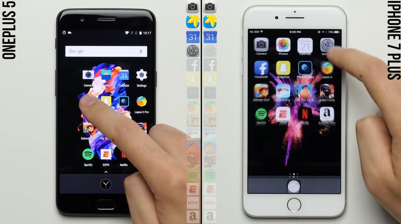 Oneplus5 Iphone7plus Speedtest 1 2