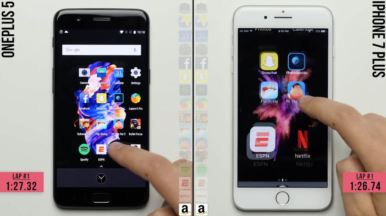 Oneplus5 Iphone7plus Speedtest 1 4 1