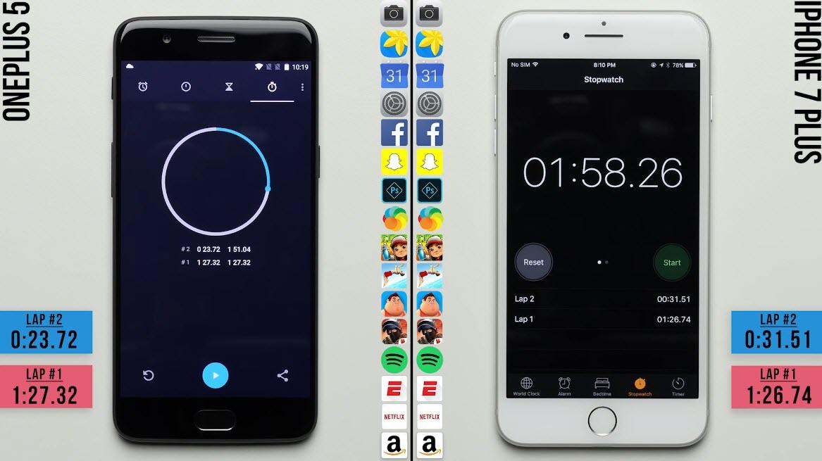 Oneplus5 Iphone7plus Speedtest 1 5 2