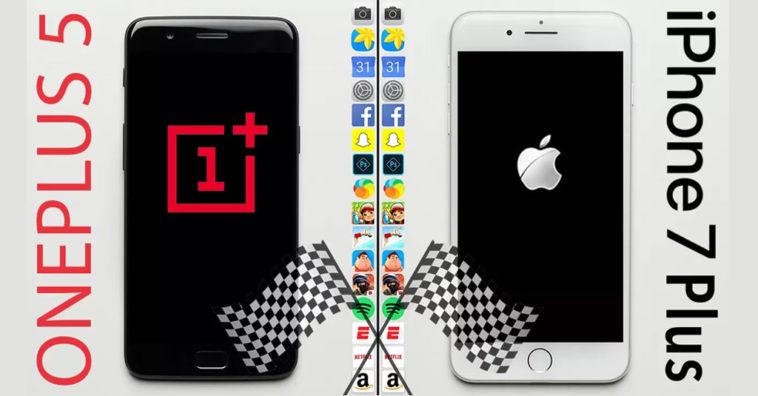 Oneplus5 Iphone7plus Speedtest