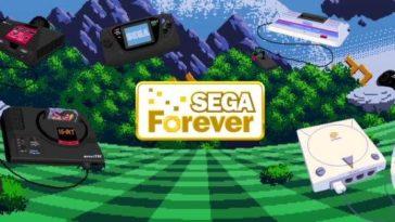 Sega Forever Cover