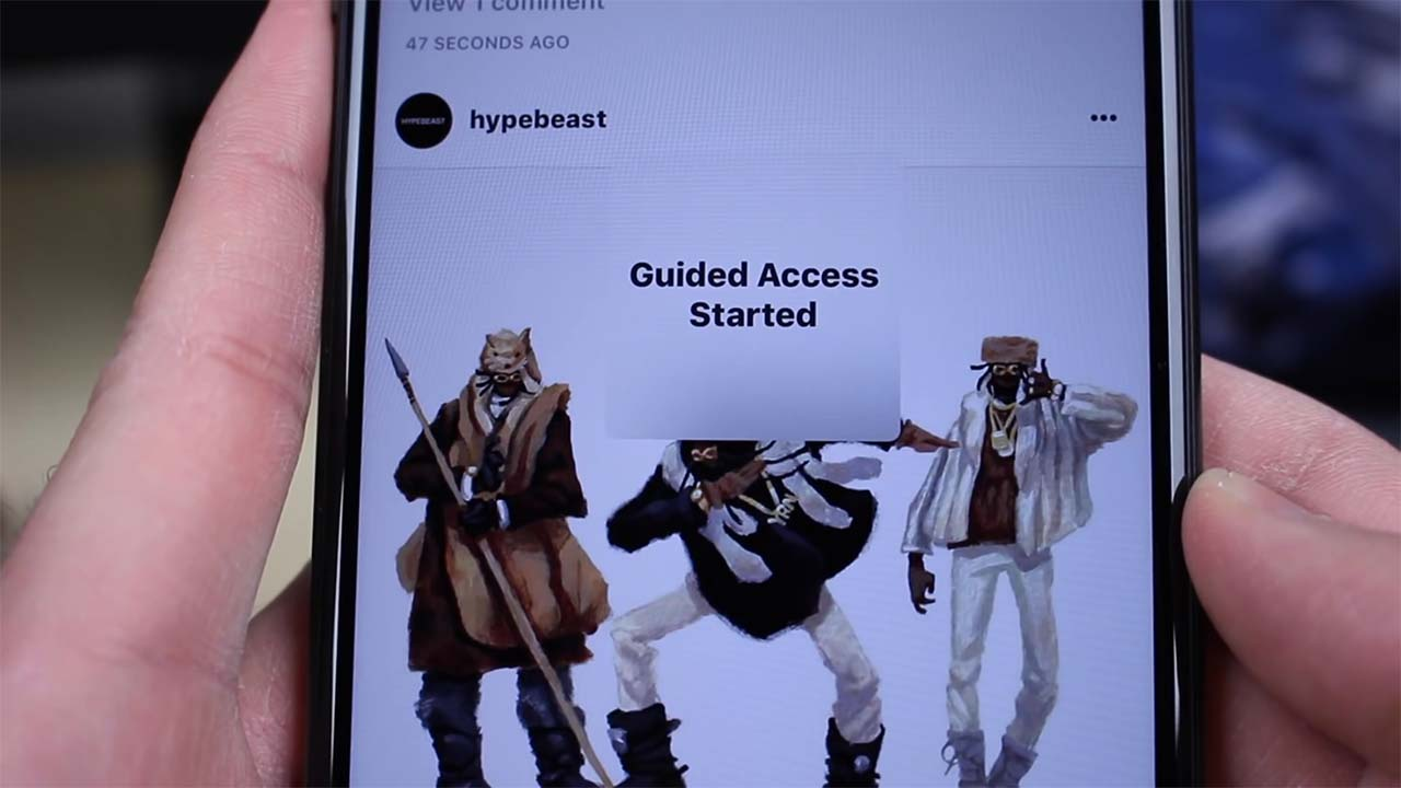 App Guidedaccess Content