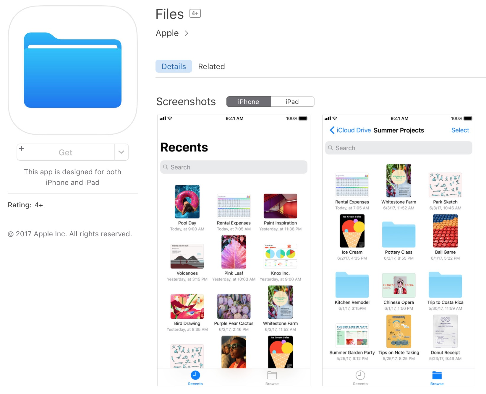 files for ios