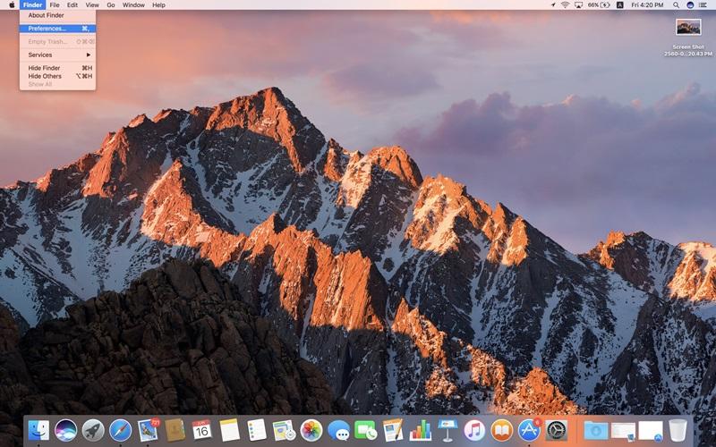 วิธีเพิ่มโฟลเดอร์ฮาร์ดดิสก์ลงหน้าจอ macOS