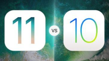 iOS 11 Beta 1 VS iOS 10-Cover