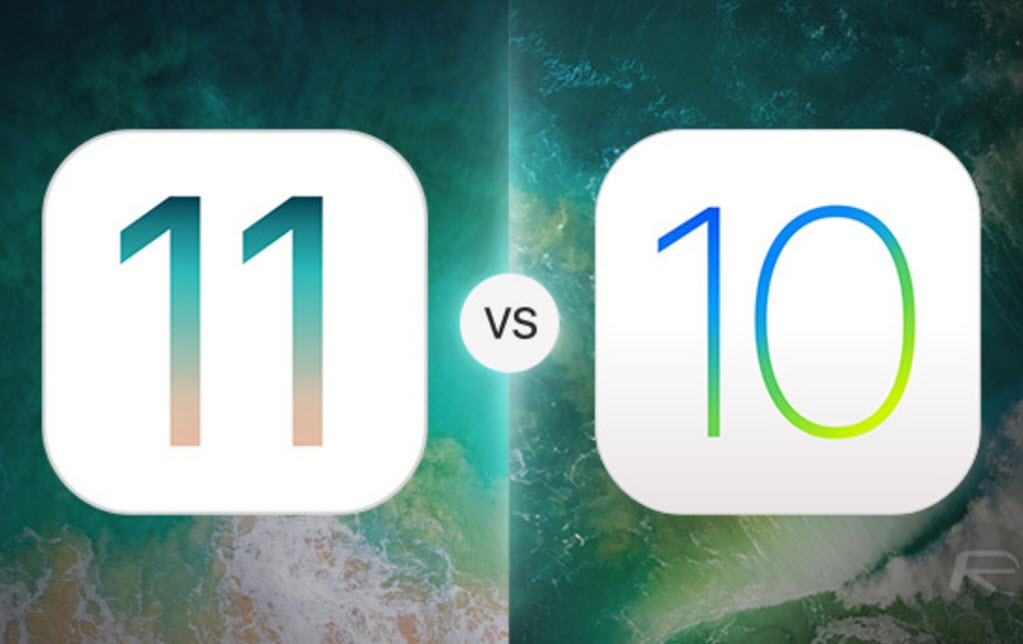 iOS 11 Beta 1 VS iOS 10-Cover