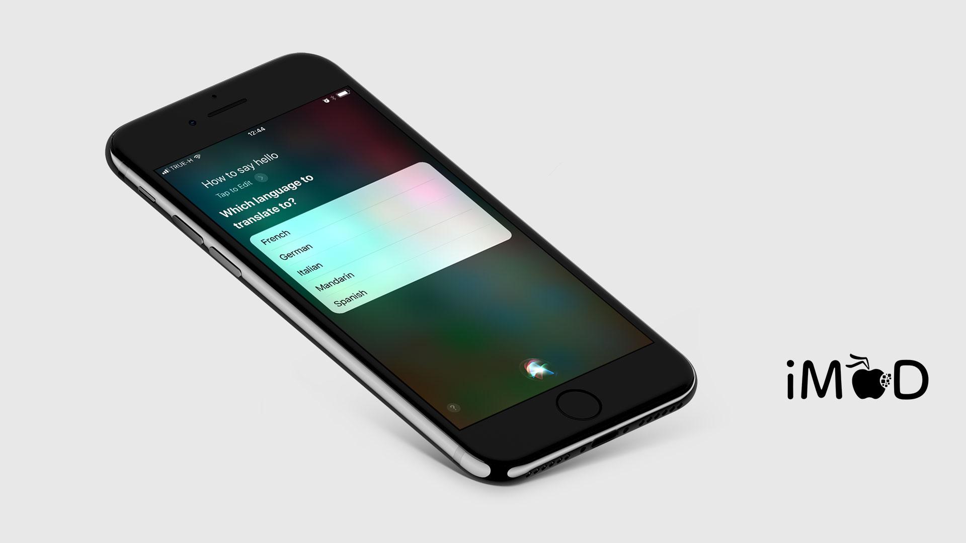 Ios 11 Siri Translation 2