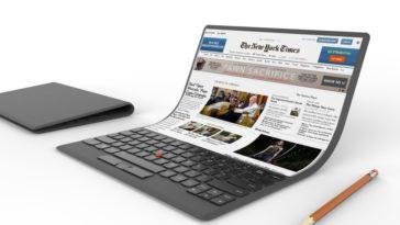 lenovo flexible laptop concept