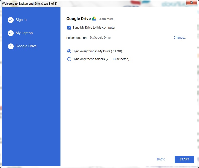Back Up And Sync Files With Google Drive 3
