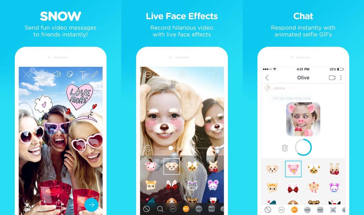 App Snow Cover