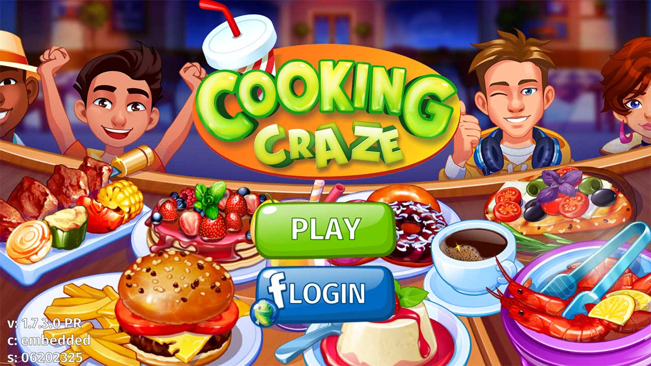 Game Cookingcraze Cover