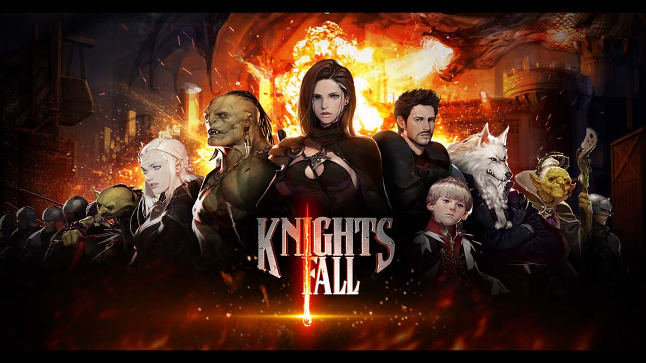 Game Knightsfall Cover