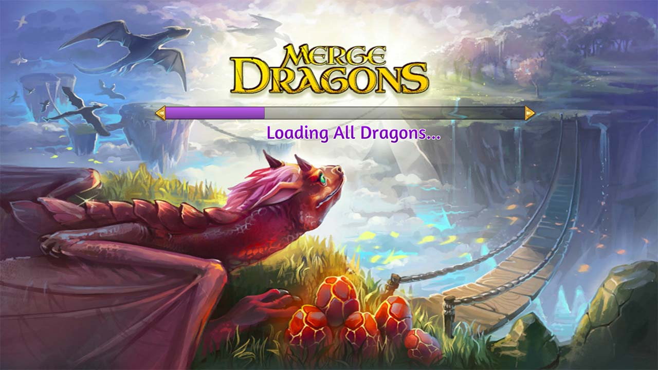 Game Mergedragons Cover