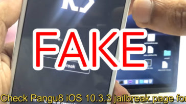Ios10 3 Jailbreak Fake