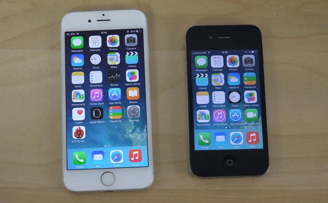 Iphone4 Iphone6