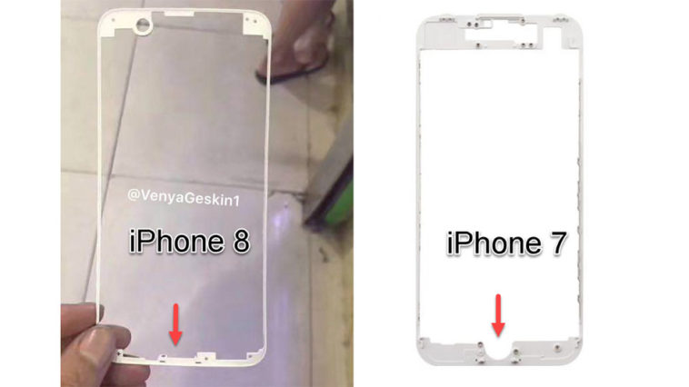 Iphone8 Screen Frame Cover