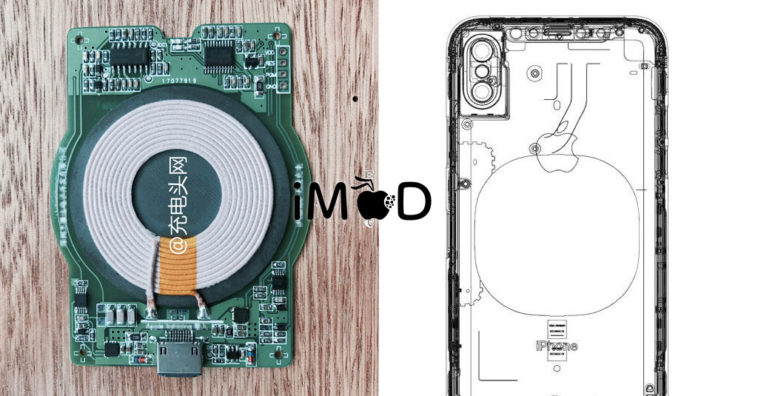 Iphone8 Wirelesscharge Component Leaks