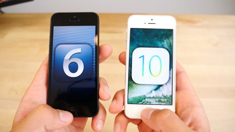 Iphone 5 Ios6 Vs Ios10 Speedtest 1