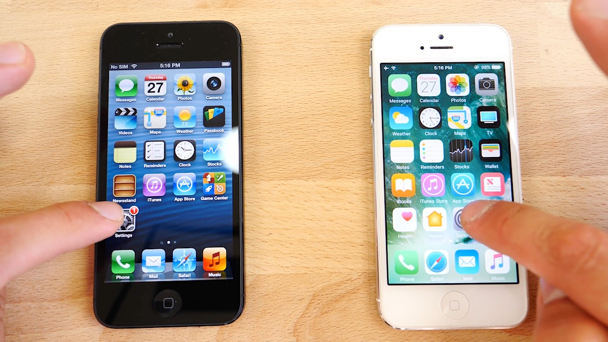Iphone 5 Ios6 Vs Ios10 Speedtest 3