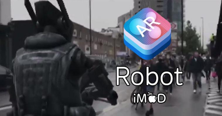 Arkit Demo Robot