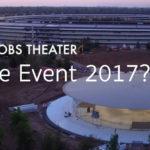 Apple Event 2017 Apple Park Rumors