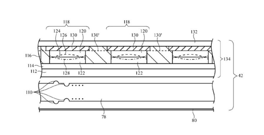 Apple Screen Privacy Patent 1 1