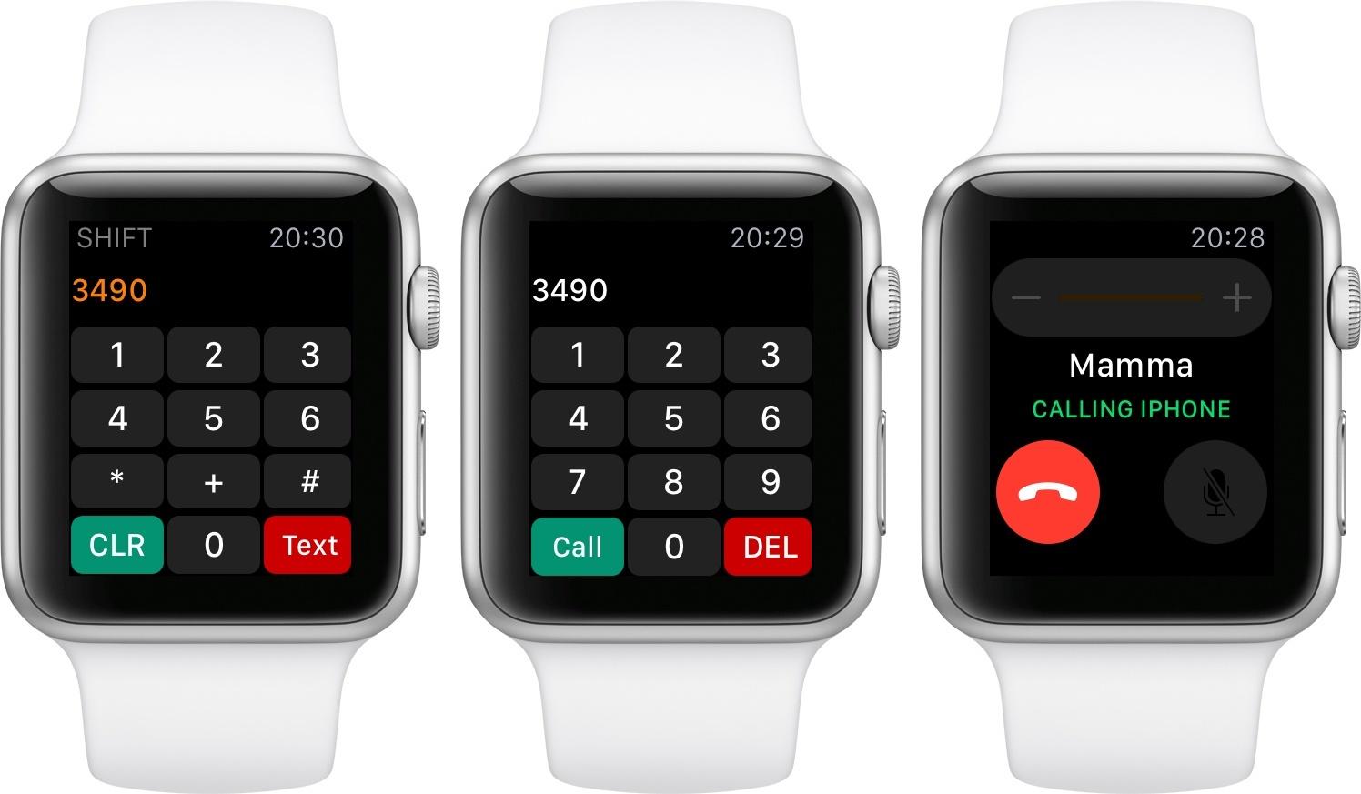 Applewatchcalling