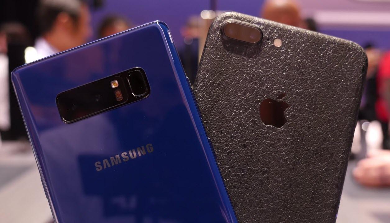 Galaxy Note8 Vs Iphone 7plus Spec Compare 1 1
