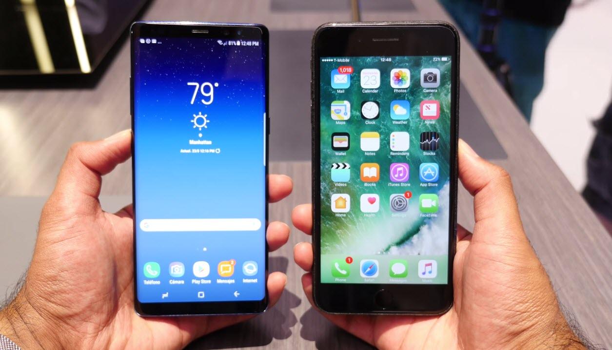 Galaxy Note8 Vs Iphone 7plus Spec Compare 1 12