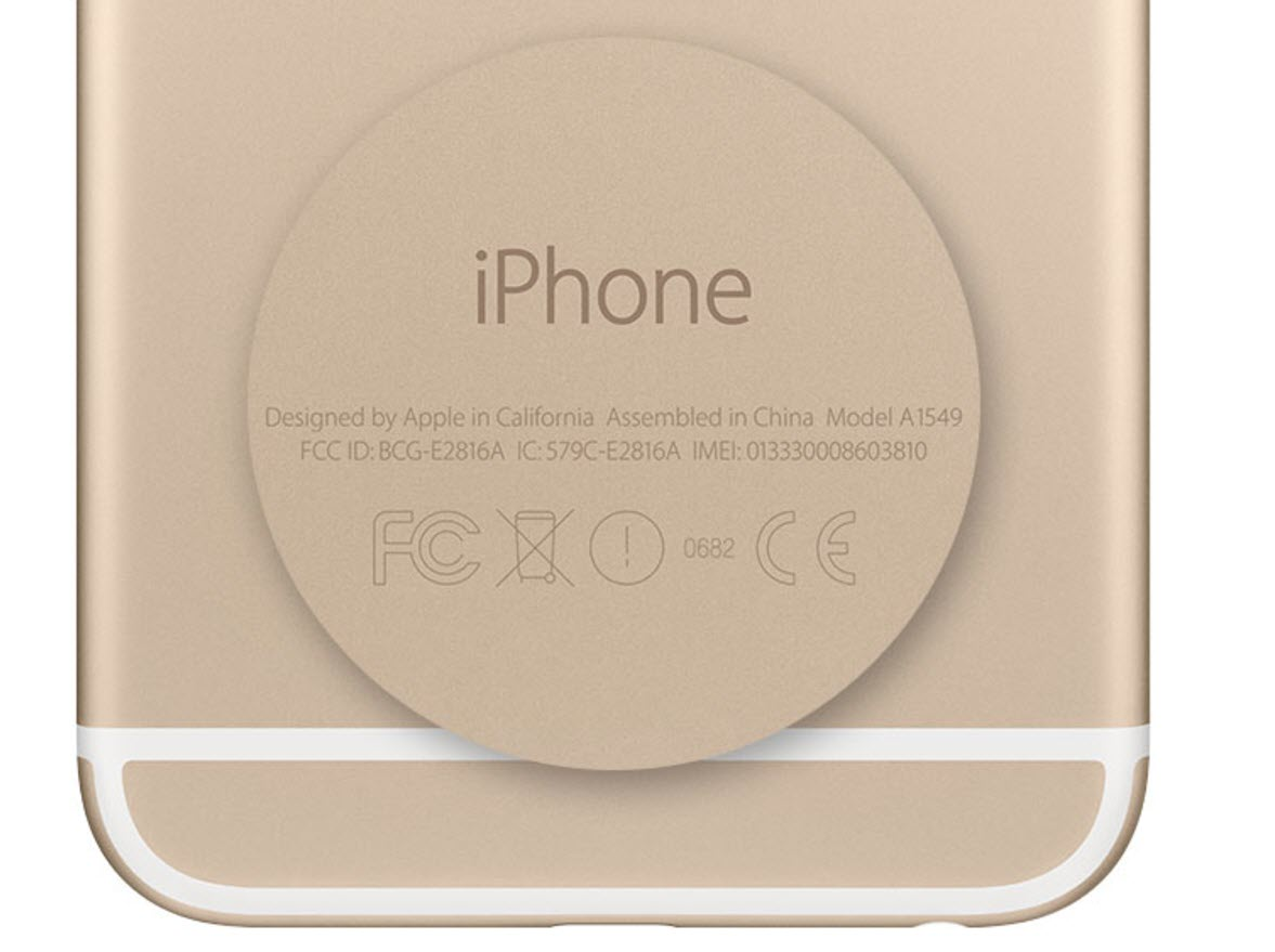 Imei Iphone Position Back