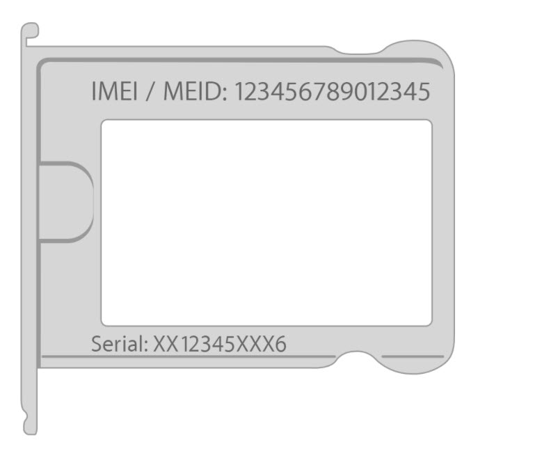 Imei Iphone Position Sim 1