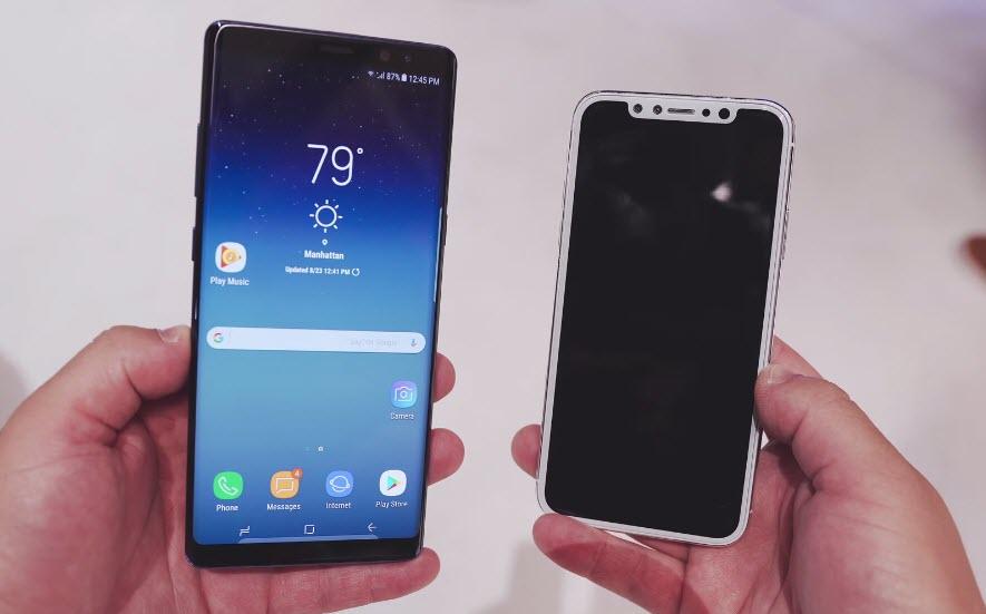 Note8 Iphone8 Design Compare 1 2
