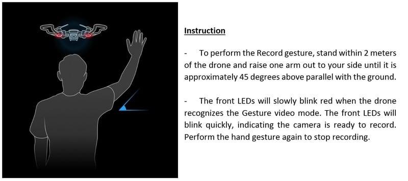 Content Video Gesture Instructions