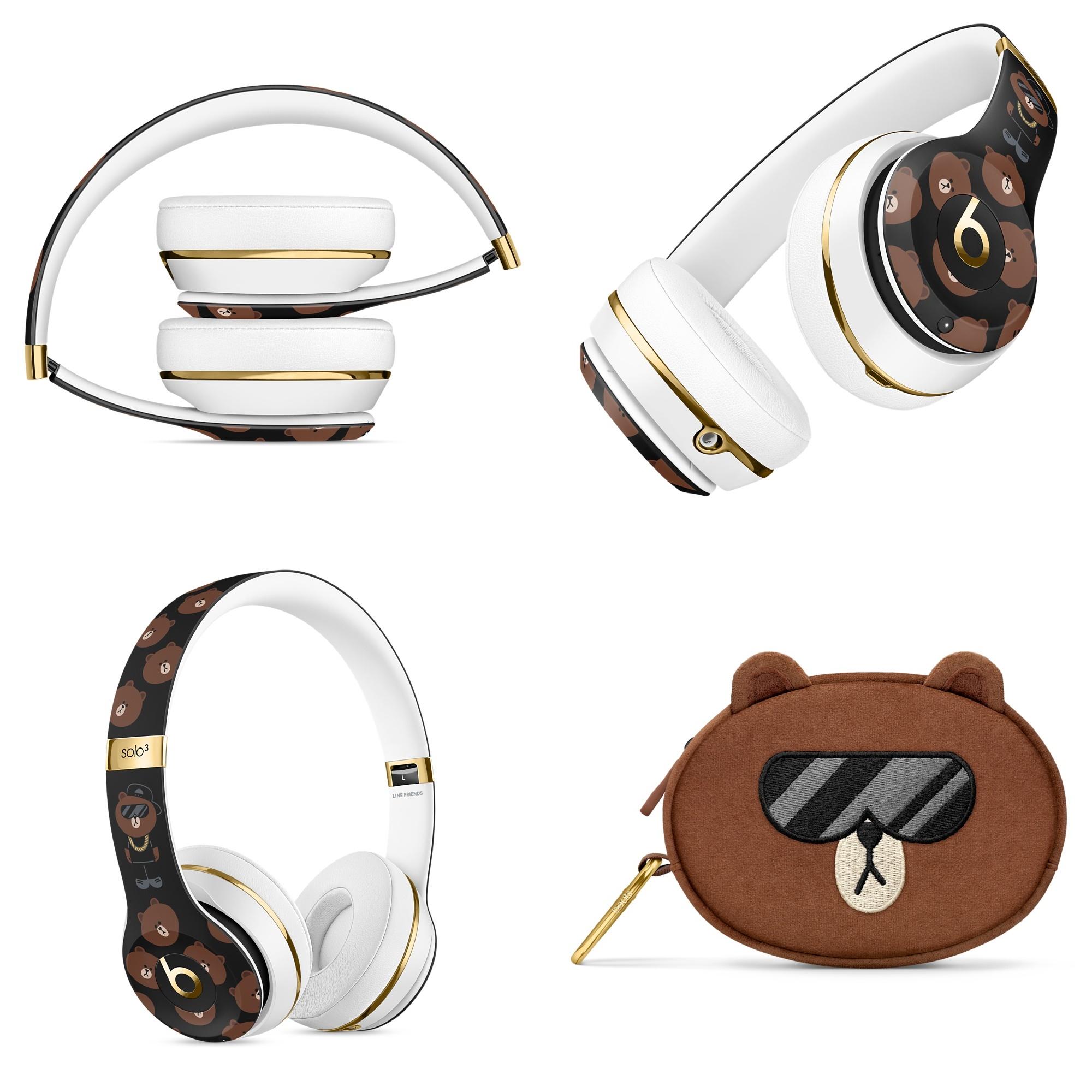 Dbeats Solo3 Wireless On Ear Line Friends Special Edition (2)