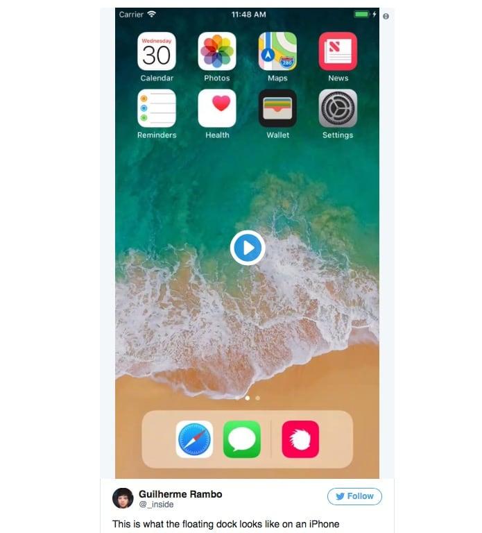 Dock Iphone 8 Render 2