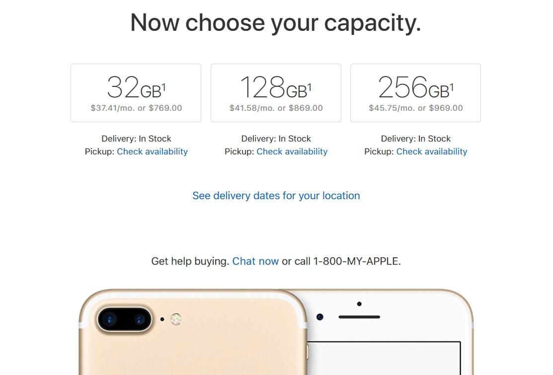 Iphone 7 Plus Us Price