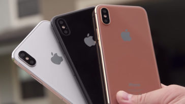 Iphone 8 Dummny Three Color Review Cover