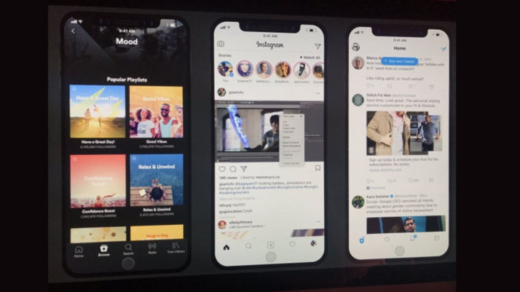 Iphone 8 Statusbar Mockup